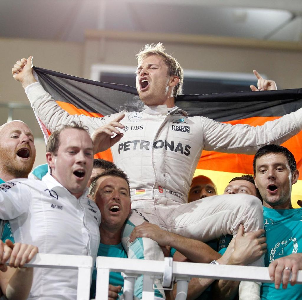 Pernyataan Lengkap Nico Rosberg Soal Keputusannya Pensiun