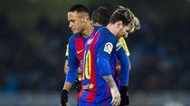 Messi Akui Ada yang Tak Ingin Neymar Kembali ke Barcelona