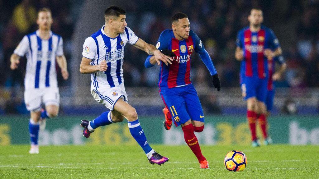 Barcelona Gagal Menang Lagi, Diimbangi Sociedad 1-1