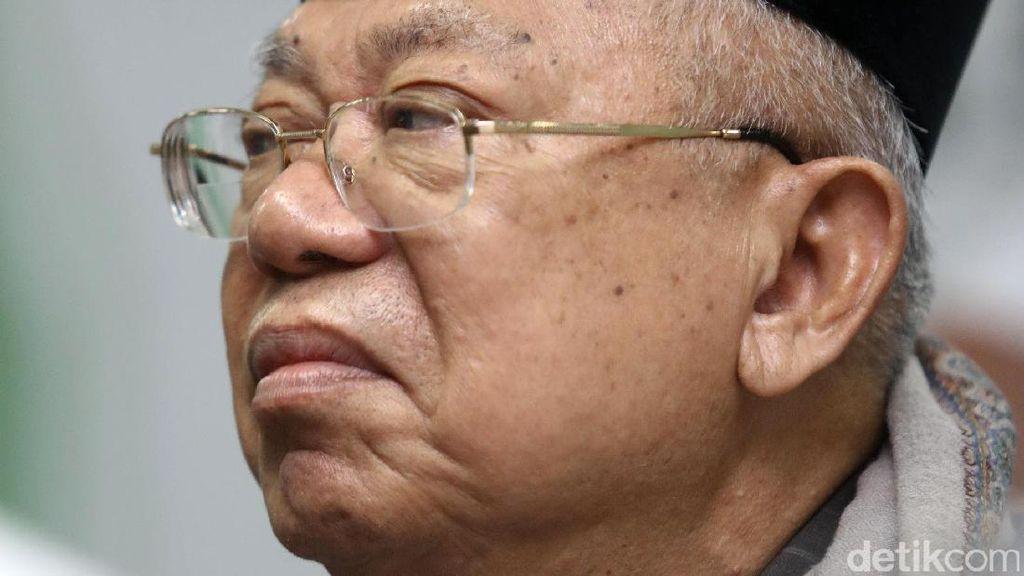 Maruf Amin: Yusuf Mansur Ikut Saya, tapi Tidak Masuk Struktur