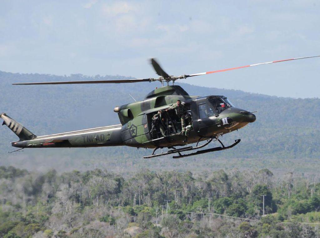 Helikopter TNI Hilang Kontak di Papua