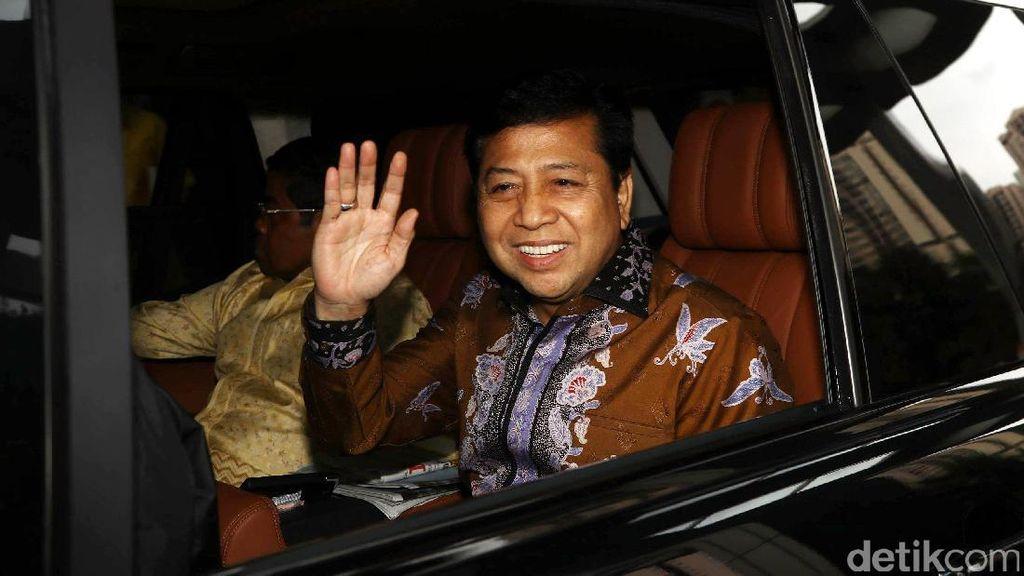 Setya Novanto Dipanggil KPK Terkait Kasus Korupsi e-KTP Selasa Depan