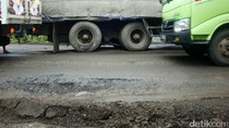Jalan Berlubang, Pengendara Diimbau Berhati-hati Saat Masuk Wilayah Banyumas