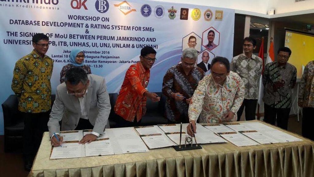 Jamkrindo Gandeng 7 Universitas untuk Peningkatan Data UMKM