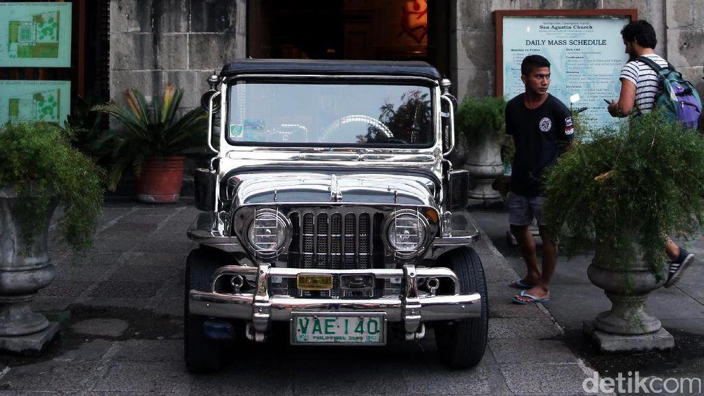 Cuma di Filipina, Bekas Mobil Perang Jadi Angkot