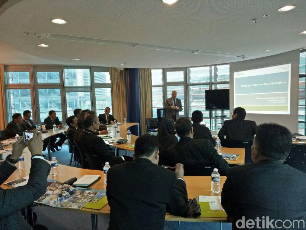 BPJS Ketenagakerjaan Berbagi Pengalaman dengan Pimpinan ISSA di Swiss