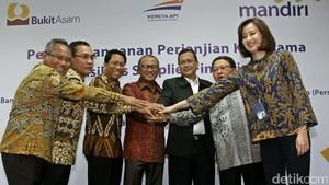 Bank Mandiri dan Bukit Asam Jalin Kerja Sama
