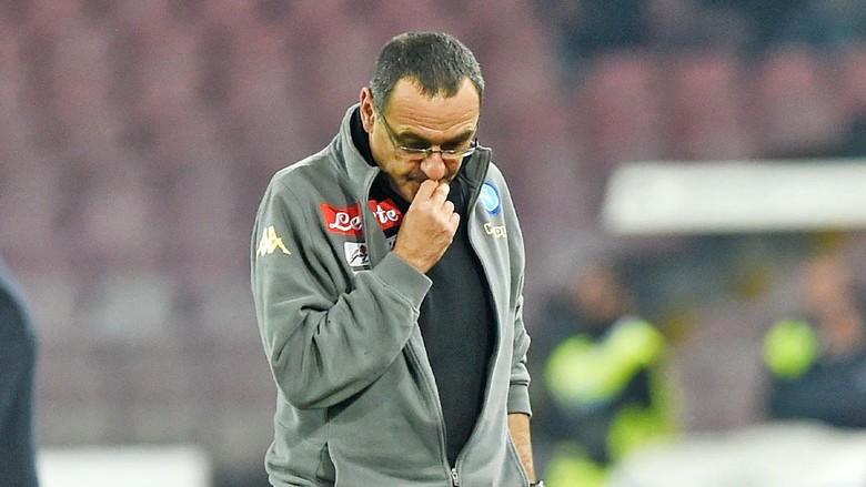 """Bandar Bola - Sarri Tak Mau Komplain soal Hasil Imbang Napoli"""