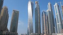 Keren! Gedung Berputar Paling Tinggi di Dunia