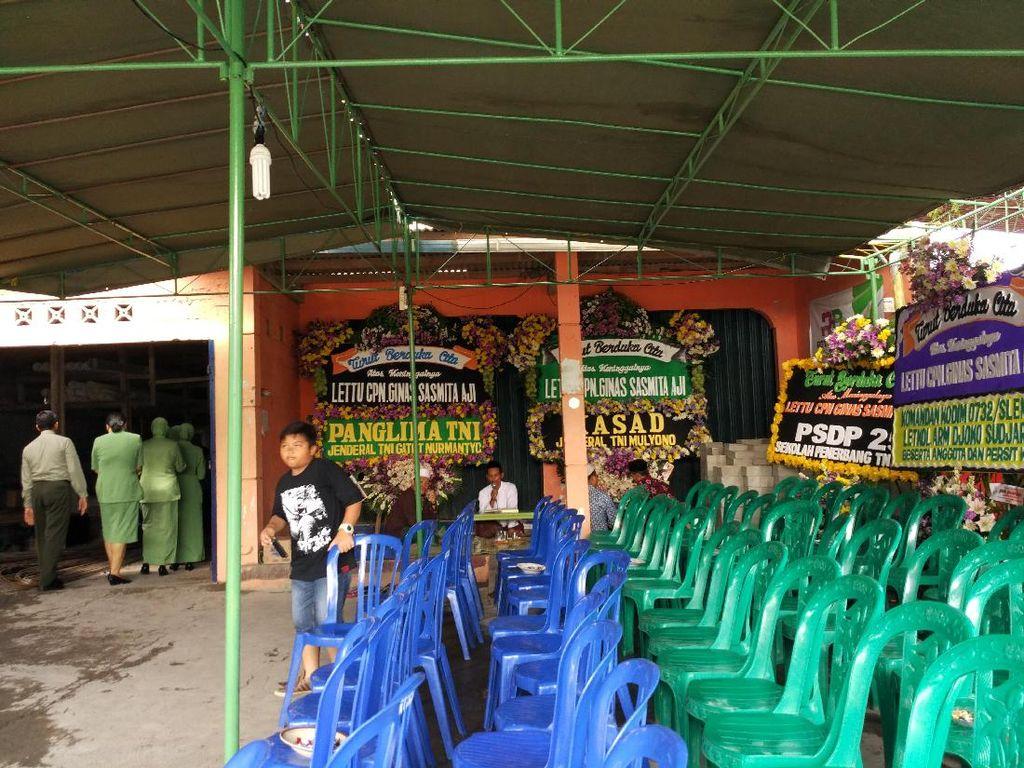 Rumah Duka Lettu Cpn Ginas di Yogyakarta Mulai Didatangi Pelayat