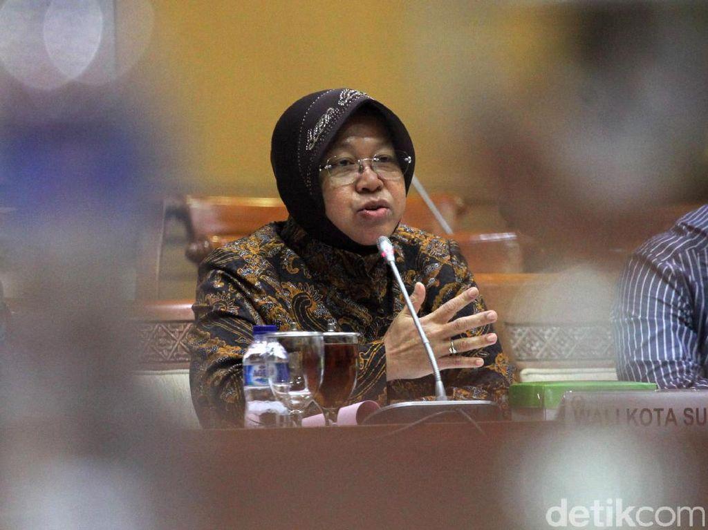 Risma dan Komisi III DPR Bahas Kasus Pasar Turi Surabaya