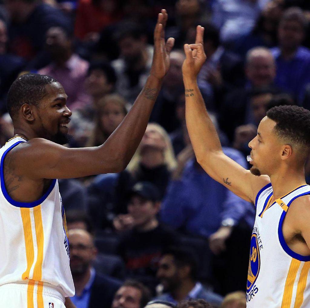 Warriors Lanjutkan Laju Kemenangan