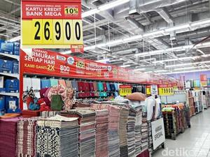 Diskon Matras Sampai Handuk di Promo Tekstil Transmart Carrefour