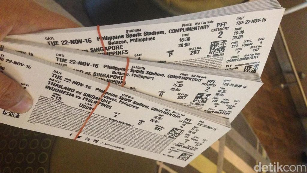 15 Ribu Tiket Leg I Final Piala AFF Akan Dijual Offline di Dua Lokasi Ini