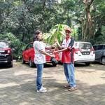 Pecinta Calya Tanam 100 Bibit Pohon di Hutan Kota