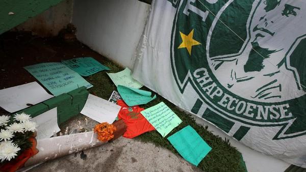 Cedera, Striker Chapecoense Terhindar dari Kecelakaan Pesawat