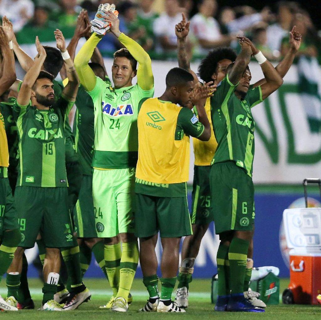 Tentang Chapecoense, Klub Brasil yang Alami Kecelakaan Pesawat