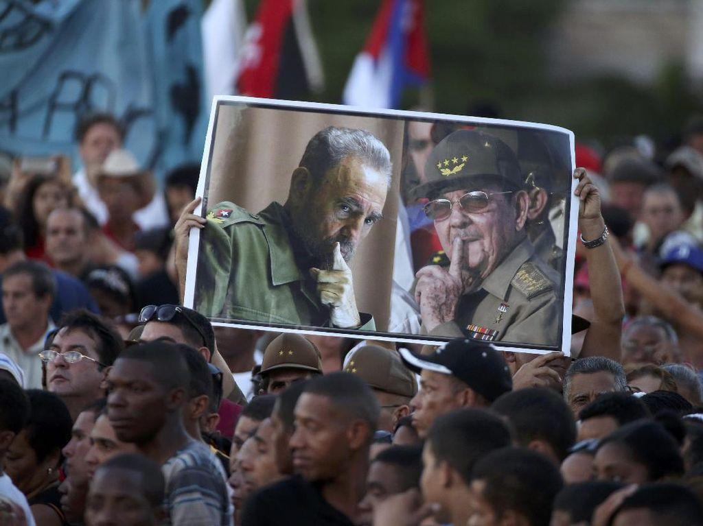Fidel Castro Tak Ingin Ada Patung dan Monumen untuk Mengenang Dirinya