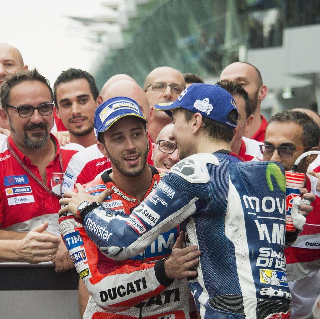 Lorenzo: Takkan Mudah Mengalahkan Dovizioso