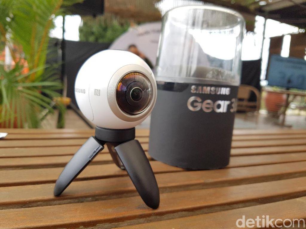 Gear 360 bakal Merambah Non Android?