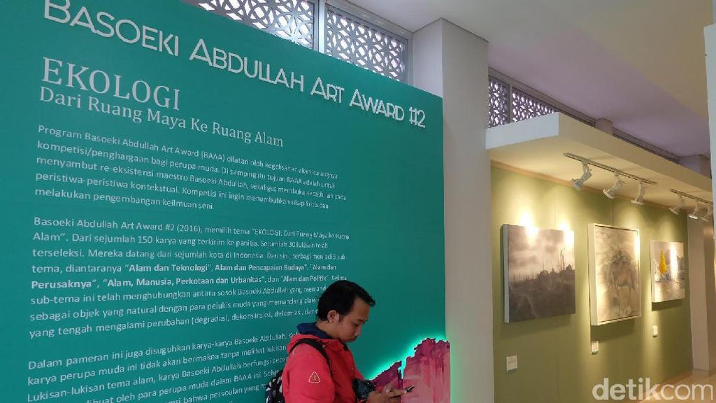 30 Karya Terpilih Basoeki Abdullah Art Award #2 Dipamerkan