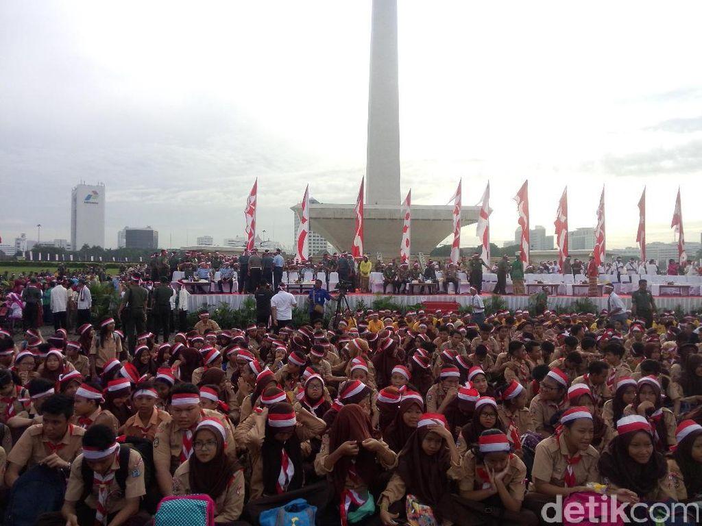 Sejukkan Indonesia, Potret Kemeriahan Apel Nusantara Bersatu di Sejumlah Kota