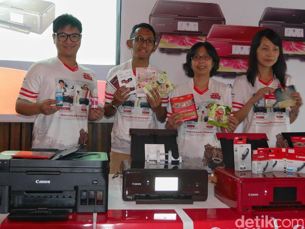 Printer Multifungsi Canon Pixma G4000, Cetak Dokumen Cuma Rp 15