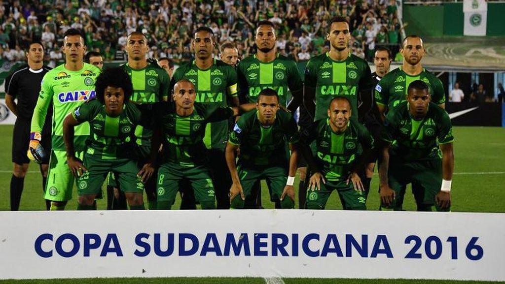 Chapecoense Dinobatkan Jadi Juara Copa Sudamericana
