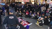 Para Pekerja AS Berdemo Menuntut Upah Minimum US$ 15 Per Jam