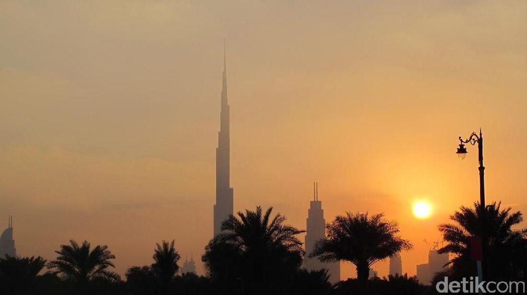 Oh Cantiknya, Sunset Burj Khalifa