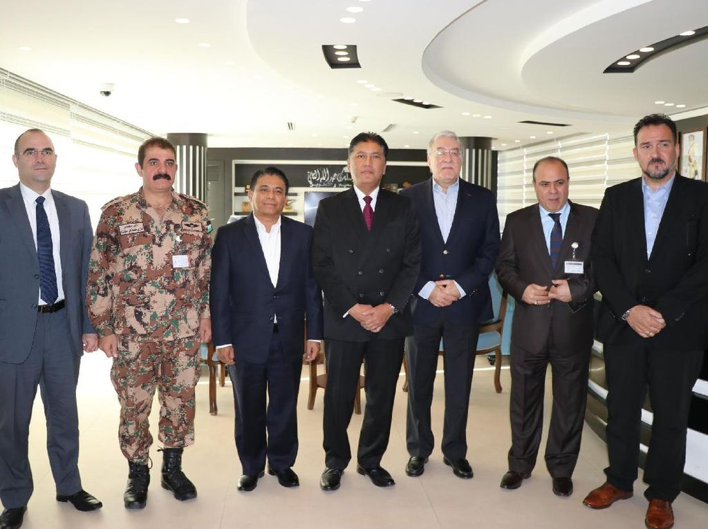 Indonesia dan Yordania Jalin Kerjasama Industri Pertahanan dan Keamanan