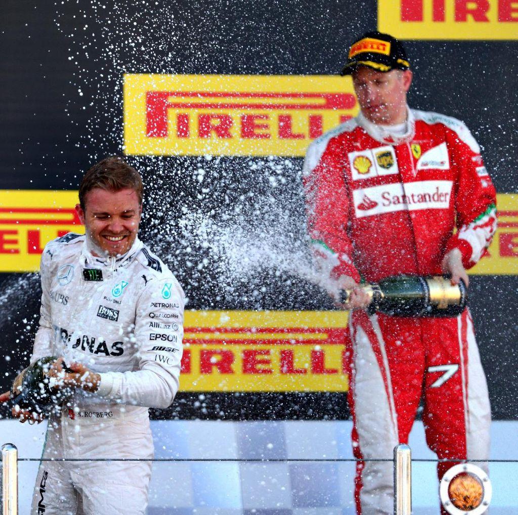 Raikkonen dan Vettel Kompak Sebut Rosberg Pantas Jadi Juara Dunia