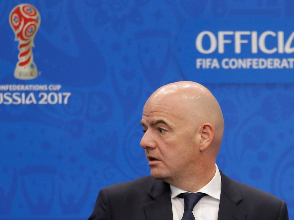 Presiden FIFA Gianni Infantino Tersangkut Kasus Pidana