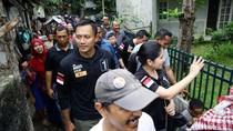 Kunjungi Pasar Tanah Abang, Agus Yudhoyono Berharap Dukungan Solid