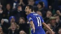 Nomor 8 ada winger Chelsea, Pedro. Mantan pemain Barcelona ini punya koleksi 29 gol (Action Images via Reuters / Matthew Childs)