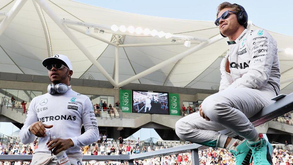 Mercedes Takkan Buru-buru Cari Pengganti Rosberg