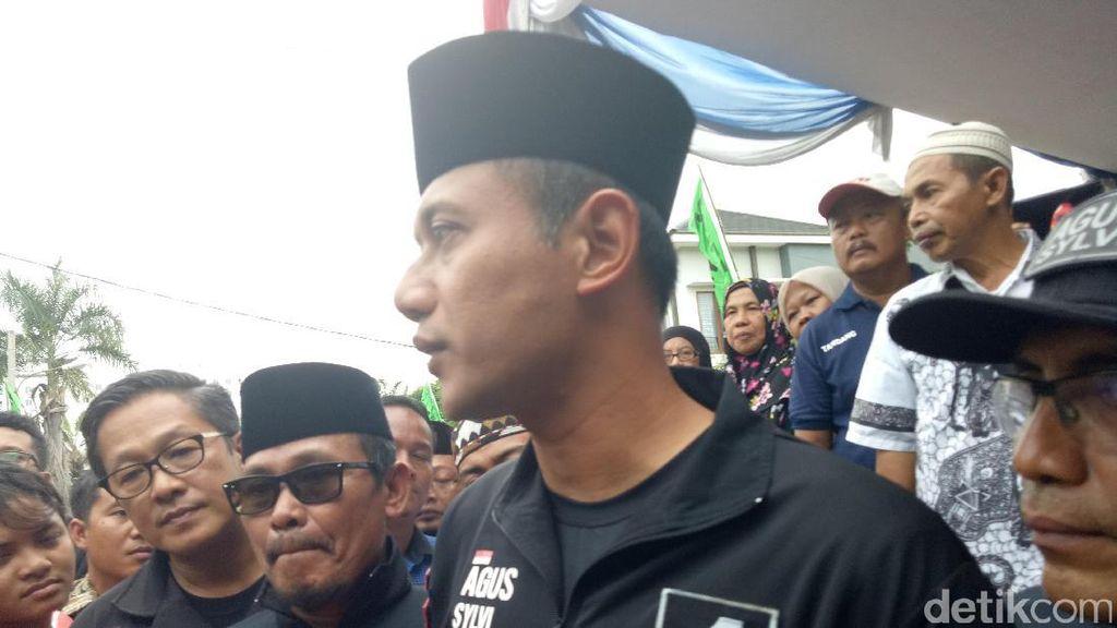 Blusukan di Cengkareng, Agus Yudhoyono Soroti Masalah Sampah