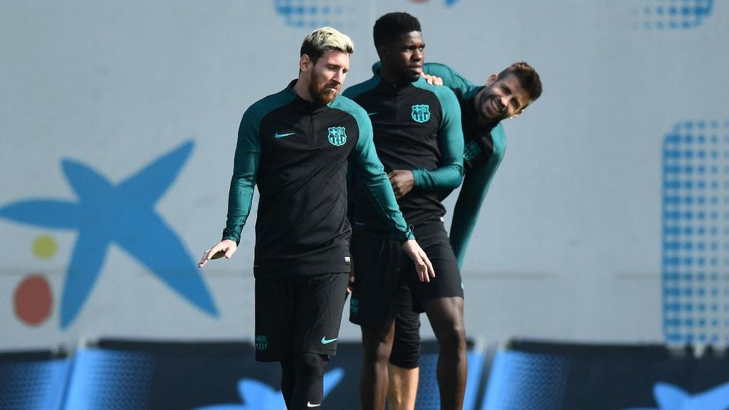 Giringan Bola Messi Bisa Bikin yang Dihadapinya Cuma Jadi seperti Cone Latihan
