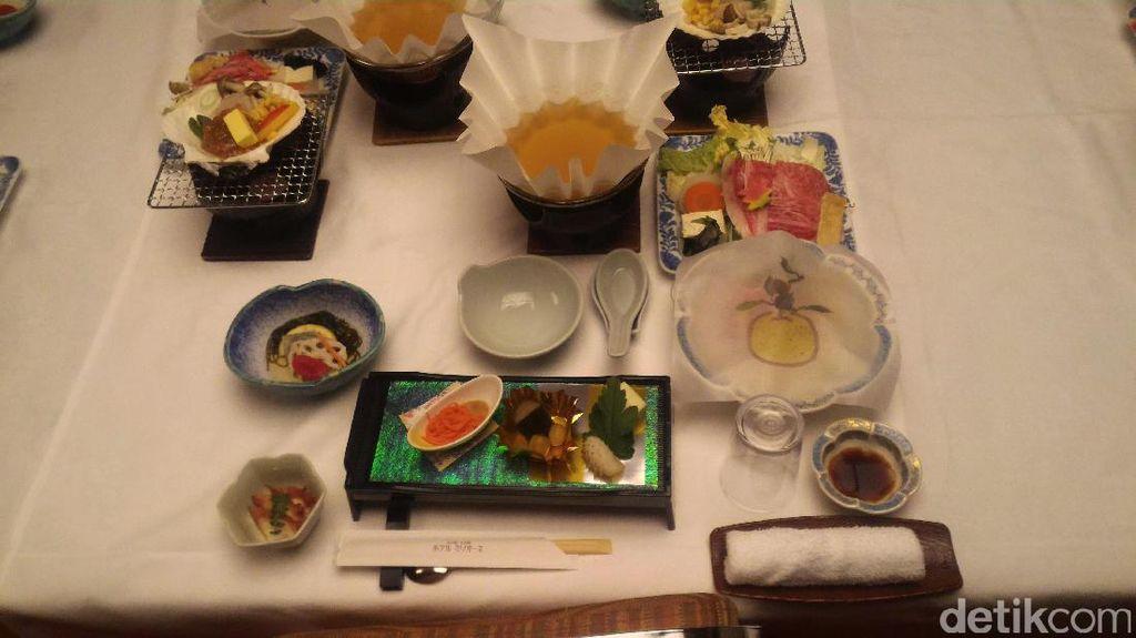 Begini Mewahnya Gala Dinner ala Jepang
