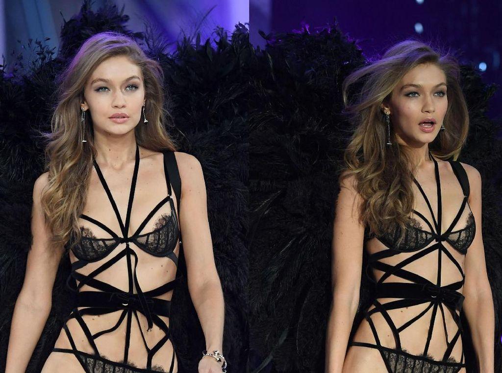 Ditolak di China, Gigi Hadid Batal Tampil di Fashion Show Victorias Secret