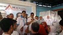 Kampanye di Rumah Pemilik Catering, Sandiaga Janji Berpihak ke UMKM