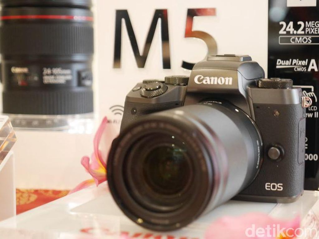 Canon EOS M5, Kameranya Fotografer Jempolan