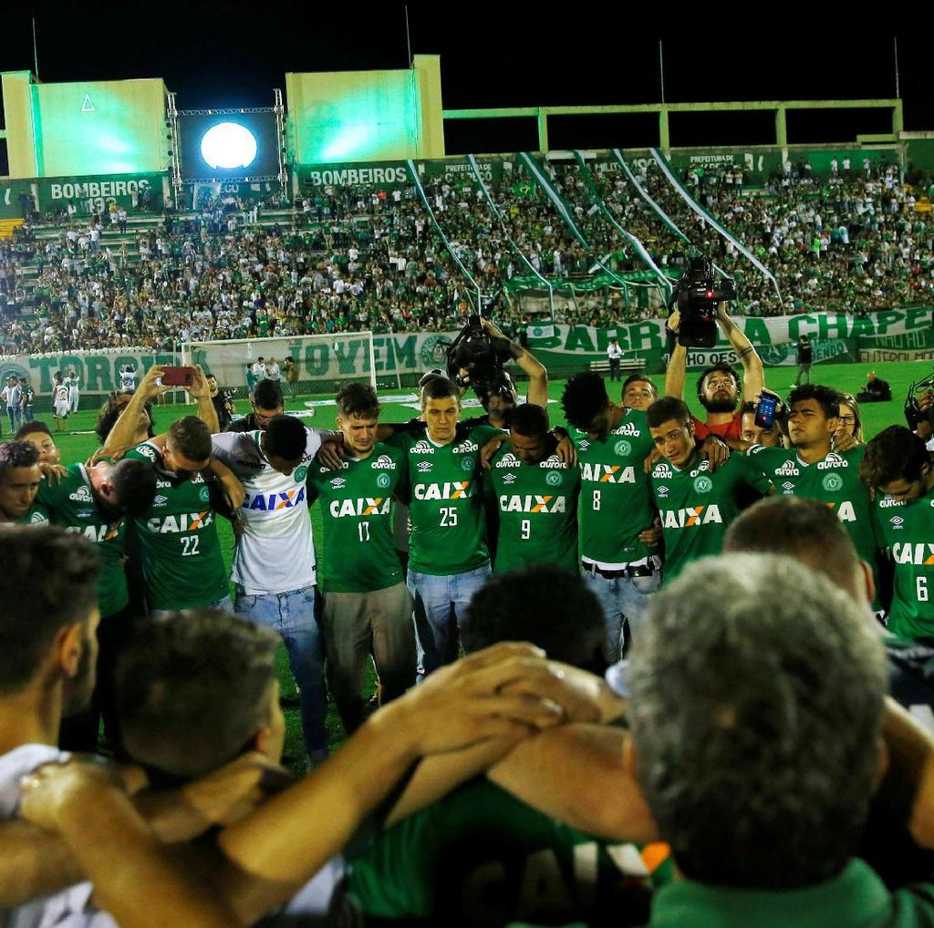Turunkan Tim Muda, Chapecoense Akan Main di Pekan Terakhir Liga Brasil