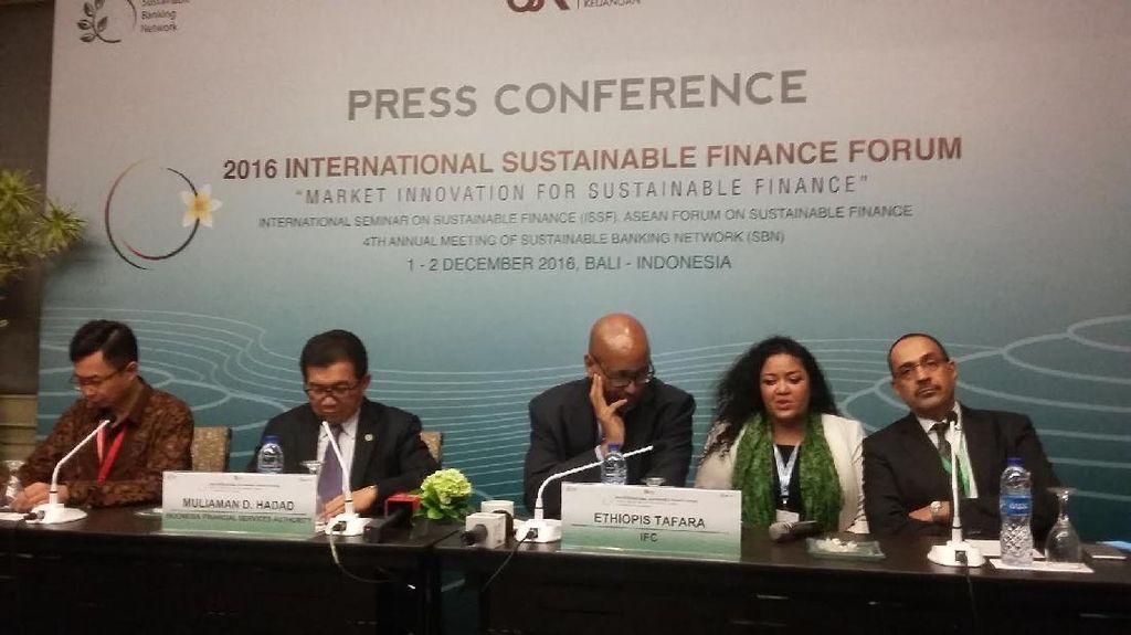 OJK Terapkan Sustainable Finance di Sektor Keuangan, Ini Respons Perbankan