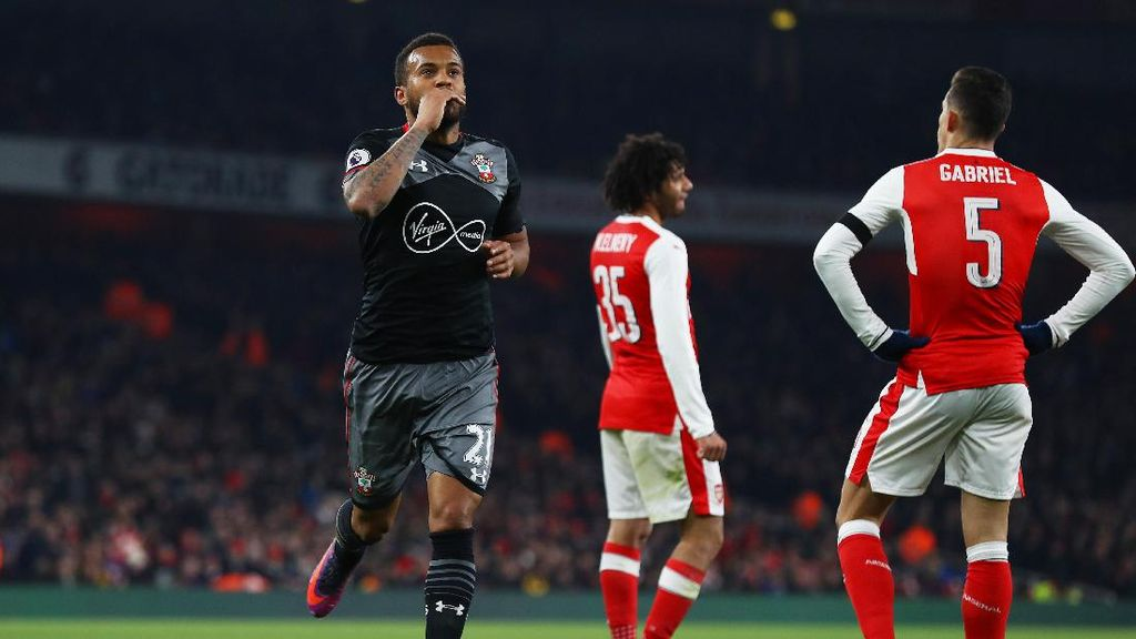 Singkirkan Arsenal, Soton Melaju ke Semifinal