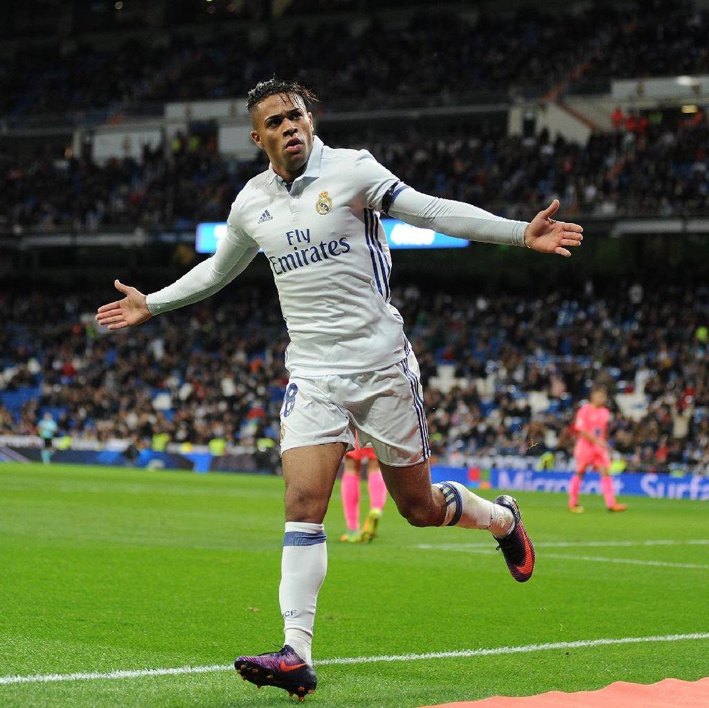 Torehan Spesial Mariano Diaz dalam Debutnya sebagai Starter untuk Madrid