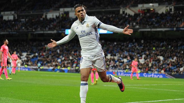 Pemain Real Madrid, Mariano Diaz. (Foto: Denis Doyle/Getty Images)