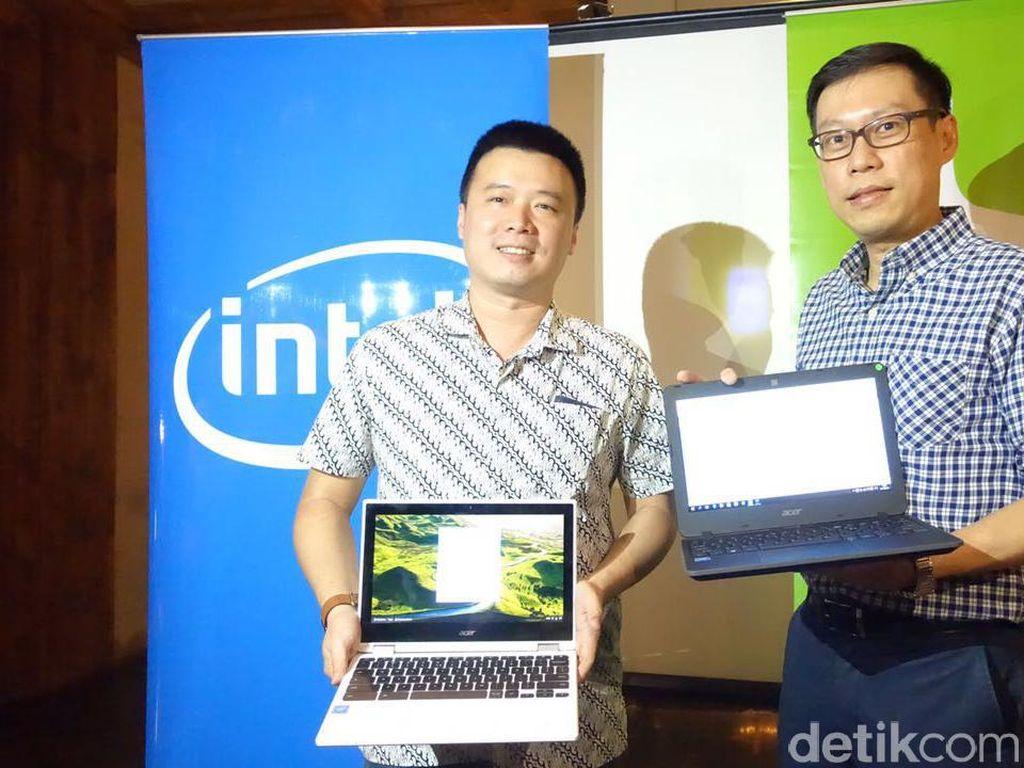 Trio Laptop Chromebook Acer Mendarat di Indonesia