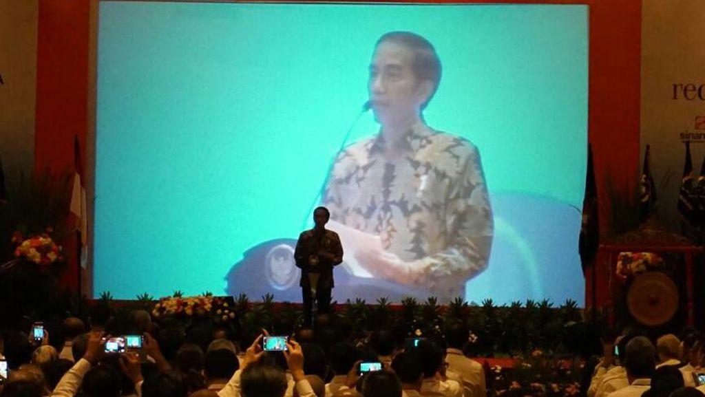 Janji Jokowi ke Pengusaha: Perangi Korupsi Hingga Bangun Infrastruktur