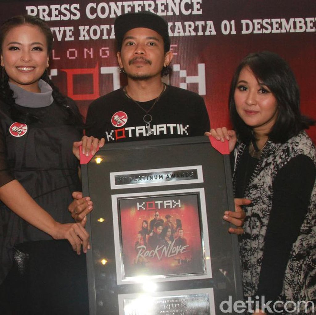 Album Rock N Love Kotak Raih 9 Platinum